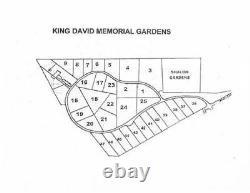 1 Beautiful Choice Cemetery Plot Nat. Memorial Park/King David Memorial Gardens