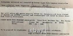 $1500+ Value Forest Green Park Cemetery Guardian Angel Memorial Park, NJ 2 Plots