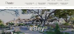 2 Adjacent Cemetery Grave Plots Oak Hill Funeral Home & Memorial Park San Jose
