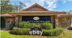 2 Burial Plots in All Faiths Memorial Park in Casselberry, FL