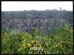 2 Burial Plots in Hilo's Homelani Memorial Park including extra services