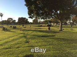 2 Burial Plots in beautiful Harbor Lawn Mt. Olive Memorial Park & Mortuary