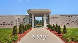 2 Cemetery plots 500/each, sold together West Lawn Memorial Park Racine, WI 53406