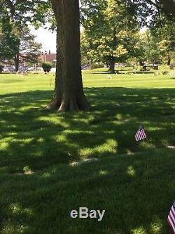 2 Double Plots (4 Total) Side-By-Side at Memorial Park Cemetery in Skokie, IL