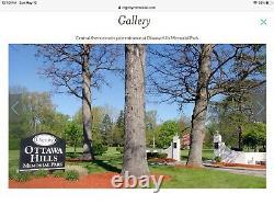 2 Mausoleum Burial Crypts-Ottawa Hills Memorial Park, Toledo, OH