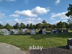 2 adjoining cemetery plots for sale in Wasington Park Cemetery Indianapolis, IN