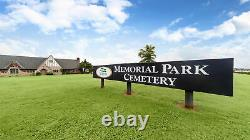 2 burial plots Memorial Park Cemetery Section 26 Lot 203 In Oklahoma City OK