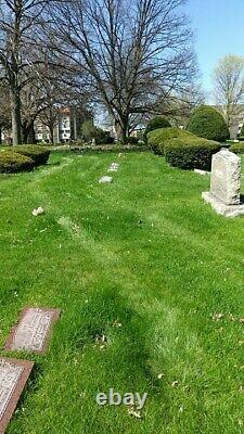 2 cemetary plots. Memorial park cemetary Skokie illinois
