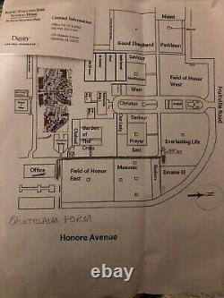 2 cemetery plots for sale Palms Memorial Park, Sarasota, FL. (170 Honore Ave.)