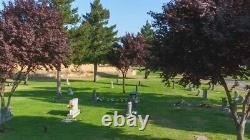 2 side by side plots at Sunset Lawn Chapel of the Chimes Memorial Park, Sacto CA