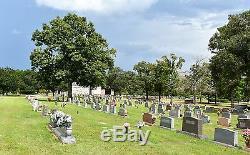 3 Burial Plots, Garden Park Cemetery, Conroe, TX