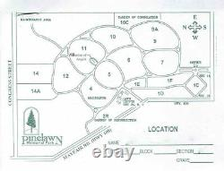 4 Adjacent Cemetary Plots Pinelawn Memorial Park Milwaukee