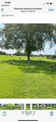 4 Cemetery Plots-McLaurin at Pinecrest Memorial Park, Clayton, NC-side by side