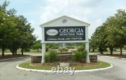 4 Cemetery plots Georgia Memorial Park Cemetary $2000 ea. Together (Marietta)