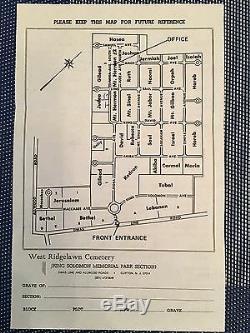 4 Plots Available $800 Each King Solomon Memorial Park Cemetery Judea Section