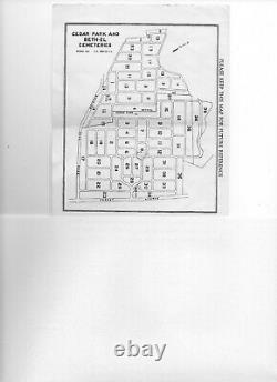 4 grave Cemetery Plot in Cedar Park Cemetary (Jewish), Paramus New Jersey