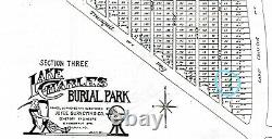 6 Cemetery Plots at Lake Charles Park Cemetery St. Louis, MO 63114