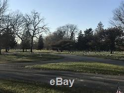 ACACIA Park, Chicago, IL 2 side-by-side cemetery plots for sale, TECOMA sect