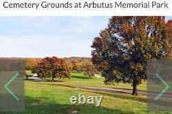 Arbutus Memorial Park 2(Tandem) Cemetery Mausoleum Crypts in Baltimore