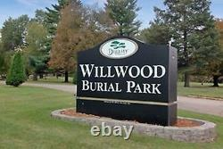 Burial Plot Willwood Park, Rockford IL
