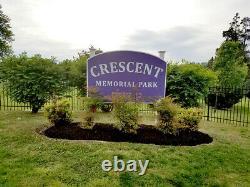 Burial Plot one grave at Crescent Burial Park Jewish Faith, Pennsauken, NJ