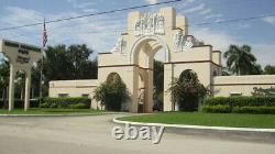 Burial Plots in Miami Memorial Park Miami Florida Section E, Lot #1291