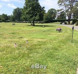 Burial lots, National Memorial Park, Falls Church, Virginia
