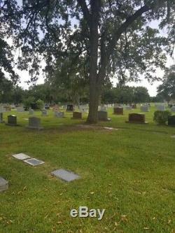 Burial plot forest park lawndale