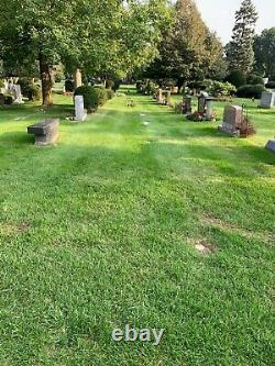 CEMETERY PLOTS in Memorial Park Cemetery, Skokie, Illinois