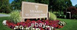 Cemetary Plot Massachusetts Sharon Memorial Park
