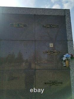 Cemetary Plots, Evergreen Memorial Park, Hobart Indiana