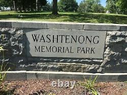 Cemetary Plots (Four) in Washtenong Memorial Park, Ann Arbor, Michigan