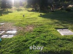 Cemetary plots Singing Hills Memorial Park El Cajon, CA 2 plots, side by side