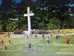 Cemetery 2 Grave Plots Forest Lawn Atlanta College Park Georgia Ga
