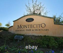 Cemetery Plot Montecito Memorial Park Loma Linda Ca. Cypress Lawn