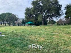 Cemetery Plot at Oakmont Memorial Park, Lafayette, Ca