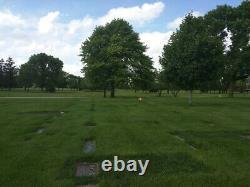 Cemetery Plots (4) Shalom Memorial Park Arlington Heights, Illinois