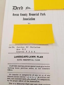 Cemetery Plots/Graves-Ocean County Memorial Park-New Jersey/NJ