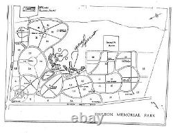 Cemetery Plots, Lot of 4 Burial Spaces at Sharon Memorial Park, Charlotte, NC