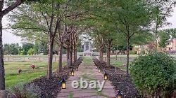 Cemetery Plots Side by Side Olinger Chapel Hill Memorial Park in Centennial, CO