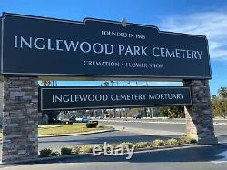 Cemetery lots, space for 2 in Inglewood Park Cemetery
