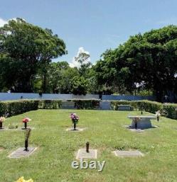 Cemetery plots for sale HILLCREST MEMORIAL PARK WEST PALM BEACH, FL 4 PLOTS