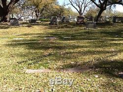 Cemetery plots in Forest Park Lawndale Houston Tx. Room for 2 gravesites