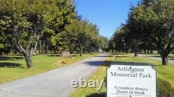 Cemetery plots in historic Arlington Memorial Park, Three available