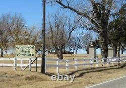 Contract with Memorial Park Cemetery. (Full cremation, burial and service for 2)