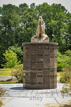 Cremation double niche Wake Memorial Park cemetery