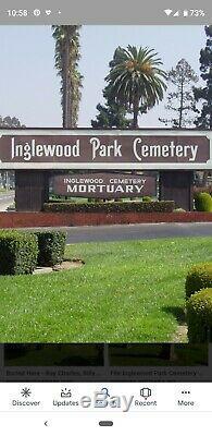 Double Crept in Inglewood Park Cementary. Location in Garden of Devotion