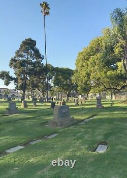 Double Interment Plot, Inglewood Park Cemetery, Inglewood, California 90301