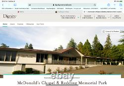 Double Lawn Crypt At Dignity Memorial-Redding Memorial Park Redding CA