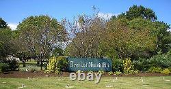 Double Space Crypt Clover Leaf Memorial Park $6000 (woodbridge, Nj)